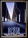 La Route Bleue Framed Giclee Print