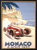 Monaco, 1937 Framed Giclee Print