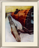 Voitures de Courses Framed Giclee Print by  Draguy