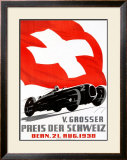 V. Grosser Preis der Schweiz Framed Giclee Print by Armin Bieber