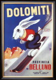 Dolomiti Prints by  Sabi