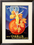 La Chablisienne Framed Giclee Print by Henry Le Monnier