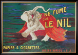 Je Ne Fume Que Le Nil Prints by Leonetto Cappiello