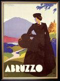 Abruzzo Framed Giclee Print