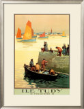 Ile Tudy Poster by  Alo (Charles-Jean Hallo)