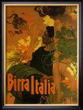 Birra Italia, c.1906 Prints by Adolfo Hohenstein