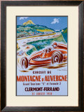 Montagne d'Auvergne Framed Giclee Print by Geo Ham