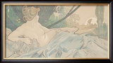 Dawn Prints by Alphonse Mucha