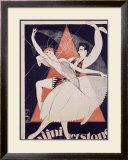Nijni et Stone Framed Giclee Print by Nicole Marley