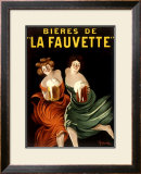 Bieres de La Fauvette Framed Giclee Print by Leonetto Cappiello