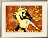 Carvival at Marmorhaus Framed Giclee Print