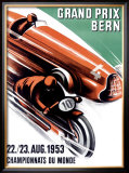 Bern Grand Prix, c.1953 Framed Giclee Print by Ernst Ruprecht