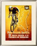 Pena Ciclista Framed Giclee Print