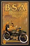 B.S.A. Motor Bicycles Prints