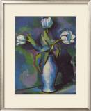 Three White Tulips Prints by Charles Sheeler