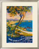 Saint Jean de Luz Framed Giclee Print by Julien Lacaze