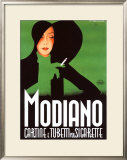 Modiano Framed Giclee Print by Franz Lenhart
