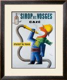 Sirop des Vosges Framed Giclee Print by Jean Carlu