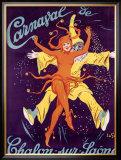 Carnaval de Chalon-Sur-Saone Framed Giclee Print by J. De Gislain