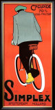Simplex Bicycle, 1915 Framed Giclee Print