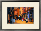 York, Walled City of Ancient Days Framed Giclee Print by Fred Taylor