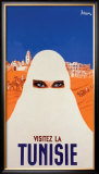 Visitie la Tunisie Framed Giclee Print by P. Ballenger
