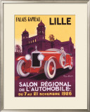 Salo Auto Lille Framed Giclee Print by Geo Ham