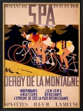 Derby de la Montagne Framed Giclee Print by Charles Gilbert