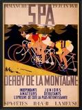 Derby de la Montagne Framed Giclee Print by Charles Gilbert