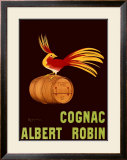 Albert Robin Cognac Framed Giclee Print by Leonetto Cappiello