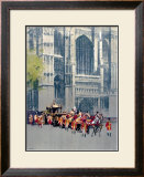 Lord Mayor's Coach, LNER poster, 1923-1947 Framed Giclee Print by Fred Taylor