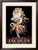 Les Bonbons Jacquin Framed Giclee Print by Leonetto Cappiello