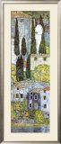 Chiesa a Cassone (detail) Print by Gustav Klimt