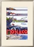 Monaco Grand Prix F1 Race, c.1973 Framed Giclee Print