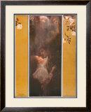 Amor Poster por Gustav Klimt
