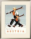 Austria Framed Giclee Print