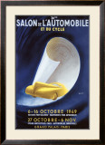 36th Salon de l'Automobile et du Cycle Framed Giclee Print by  Delpy