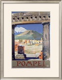 Pompei Framed Giclee Print