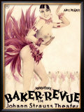 Josephine Baker Revue Framed Giclee Print by Hans Neumann