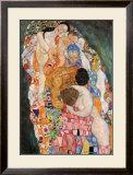 Death and Life, c.1911 (detail) Art by Gustav Klimt