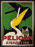 Pelican Cigarettes Framed Giclee Print by Ch. Yraz