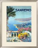 San Remo Framed Giclee Print by  Allicari