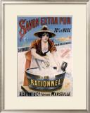 Savon Exta Pur Framed Giclee Print by  PAL (Jean de Paleologue)