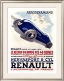 Renault Framed Giclee Print