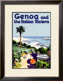 Genoa Framed Giclee Print
