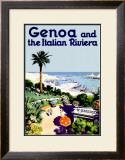Genoa Framed Giclee Print
