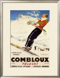 Combloux Teleski Art by Ordner 