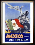 Mexico Tomorrow Framed Giclee Print