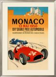 Monaco Grand Prix, 1956 Print