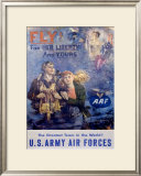 Fly! - WWII Framed Giclee Print